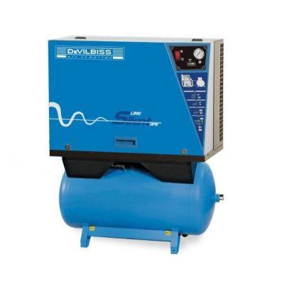 Compresseur d'air insonorisé 270 litres - 5.5cv - 400V