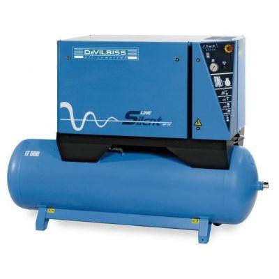 Compresseur d'air insonorisé 500 litres - 7.5 CV - 400V