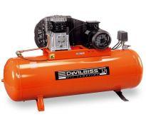 Compresseur d'air à piston 200L - 4cv - 400V