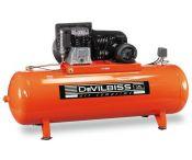 Compresseur d'air à piston 500L - 5.5 CV - 400 V - DEVILBISS