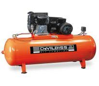 Compresseur d'air à piston 500L - 7.5cv - 400V
