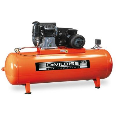Compresseur d'air à piston 500L - 7.5cv - 400V