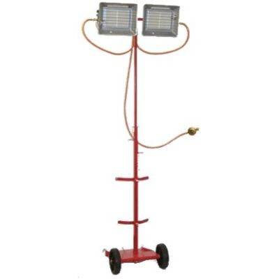 Radiant à gaz mobile sur mât - RGT 80 I