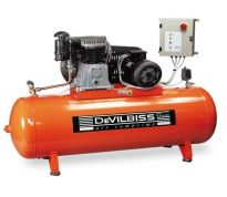 Compresseur d'air à Piston 500L - 10cv - 400V avec demarrage étoile