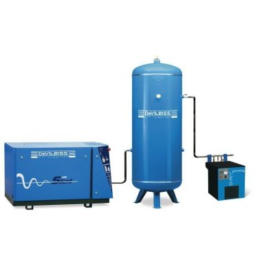 Compresseur d'air complet - Réservoir Vertical 500 L - 5 CV