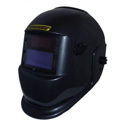 Masque de soudage - cagoule de soudure électronique noir carbone