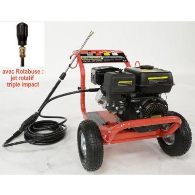 Pack nettoyeur haute pression 5.5 CV + Rotabuse