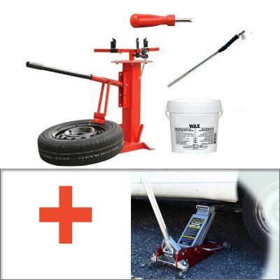 Pack complet Démonte pneu - Accessoires - Cric
