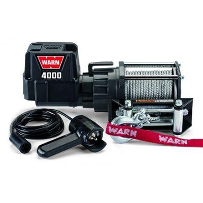 Treuil électrique - 12V- DC 4000 -quads et nautisme - 1800 Kg