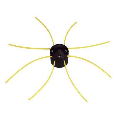 """Tête de débroussailleuse universelle """"araignée"""" en ABS"""