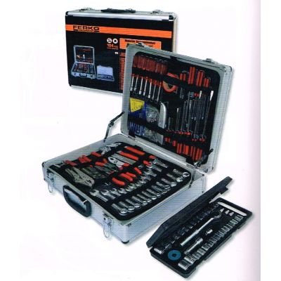 Valise équipée de 104 outils - Mallette de maintenance