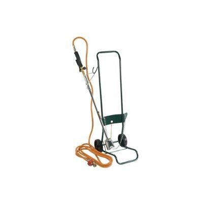 Kit desherbage avec flexible 5m + détendeur + chariot