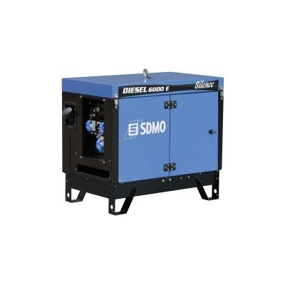 Groupe électrogène diesel 5.2kW - 230V - Silencieux