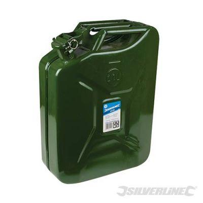 Bidon à essence Jerry Can en acier 20 litres