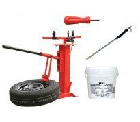Pack démonte pneu auto-moto et accessoires - tout en un