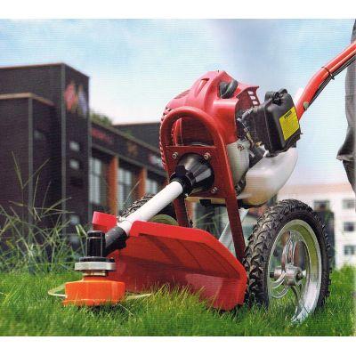 Débroussailleuse mobile sur roues 2 en 1 à moteur essence 4 temps
