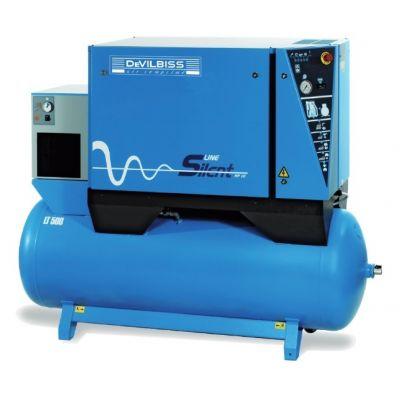 Compresseur d'air insonorisé 500 Litres - 42m3/h avec sécheur d'air