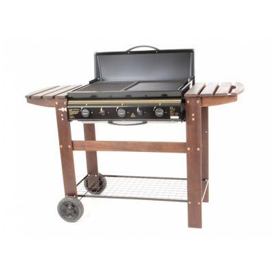 Barbecue à Gaz - Chariot bois - MISSOURI