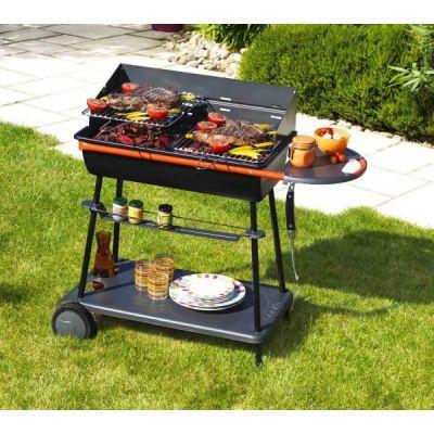 Barbecue charbon de bois - Émaillée - QOOKA A 700