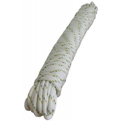 Corde de polyester double tresse - 12 mm x 50 m