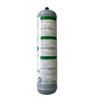 Bouteille de gaz jetable ARGON/CO² pour soudage MIG
