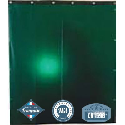 Rideau de protection soudure 0.4 mm 1400x1400