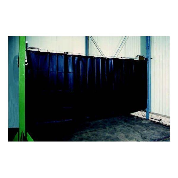 enrouleur pivotant pour rideau de protection. Black Bedroom Furniture Sets. Home Design Ideas