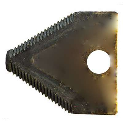 Couteau triangulaire pour broyeur BRF 6.5, 13 et 15 cv