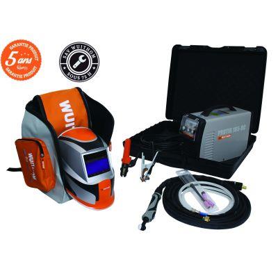 Pack de soudure TIG -poste- masque et sac de transport