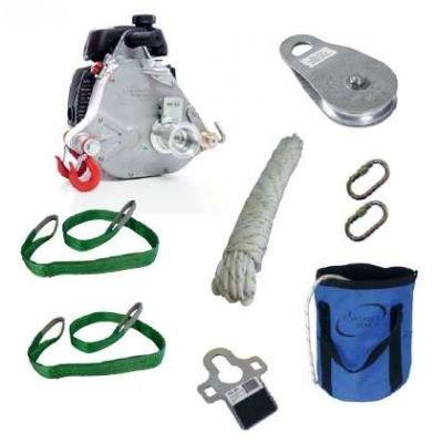 Treuil cabestan thermique Portable Winch PCW5000 + Kit tirage eco 1000 Kg