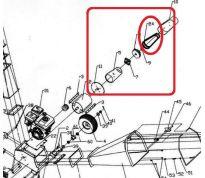 Courroie 17x1041Li pour MEP-B15DY