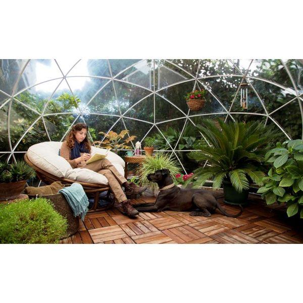 Garden Igloo, Abri de Jardin, Jardin d\'Hiver, Abri en PVC Recyclé
