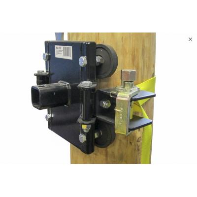 Système d'ancrage de Treuils pour Poteaux et Arbres