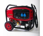 Groupe électrogène Essence - 7000 W - 230 V - AVR - Kit brouette - ELECTROPOWER