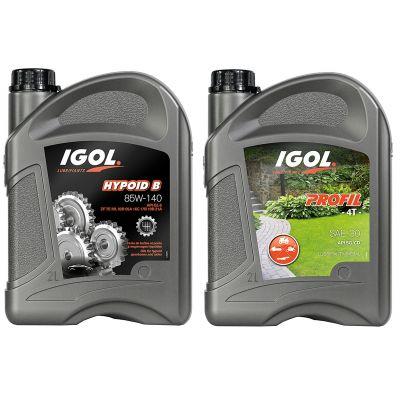 Pack huile pour Motoculteur - Moteur et Boite