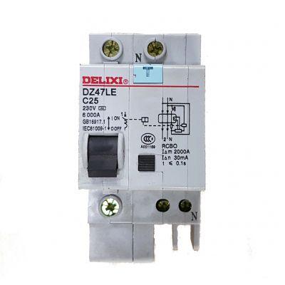 Disjoncteur avec différentiel 30 mA