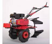 Motoculteur MEP900 7 CV avec charrue brabant et 8 fraises - Largeur de travail : 110 cm - ELECTROPOWER