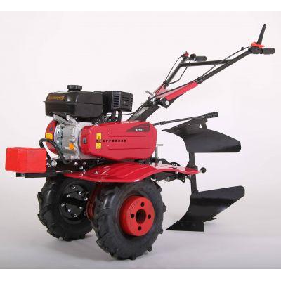 Motoculteur MEP900 7 CV avec charrue brabant et 8 fraises - Largeur de travail : 110 cm